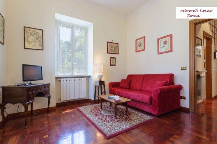 Living room Location Apartment 59051 Rome