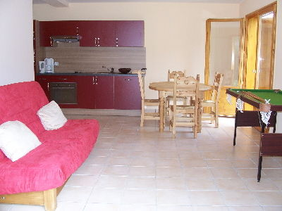 Living room Location Chalet 59119 Saint Pierre - Dels - Forcats - Cambre