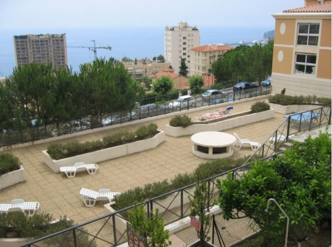 View from the balcony Location Apartment 60552 Monaco
