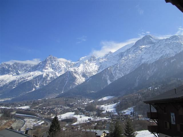 View from the balcony Location One-room apartment 62468 Les Houches