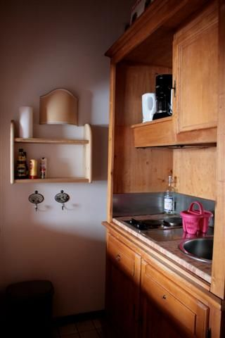 Kitchenette Location One-room apartment 62468 Les Houches