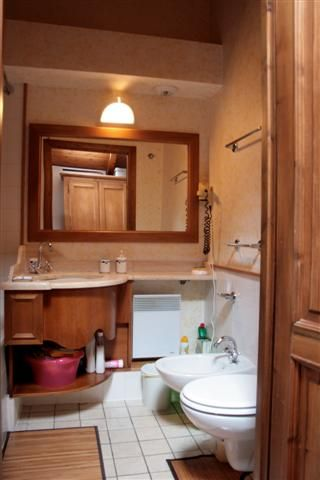 bathroom Location One-room apartment 62468 Les Houches