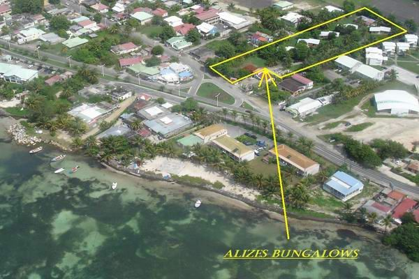 Map of property Location Bungalow 8029 Sainte Anne (Guadeloupe)