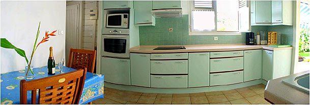 Separate kitchen Location Villa 8123 Sainte Anne (Martinique)