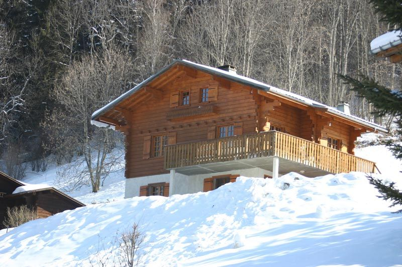 View of the property from outside Location Chalet 980 Les Contamines Montjoie