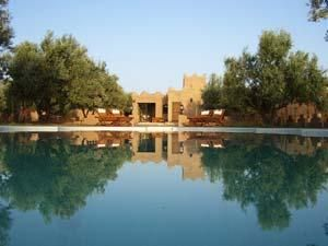 View of the property from outside Location Vacation rental 73311 Marrakech