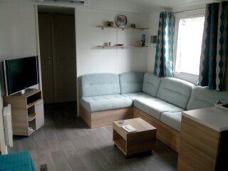 Living room Location Mobile home 90517 Vias Plage