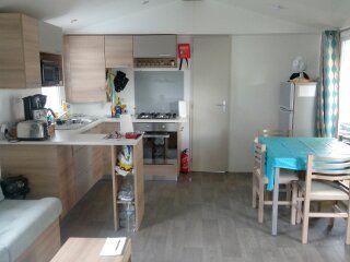 Kitchenette Location Mobile home 90517 Vias Plage