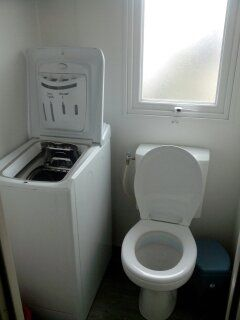 Bathroom w/toilet only Location Mobile home 90517 Vias Plage