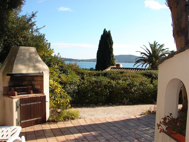 View from the terrace Location House 93909 Saint Tropez
