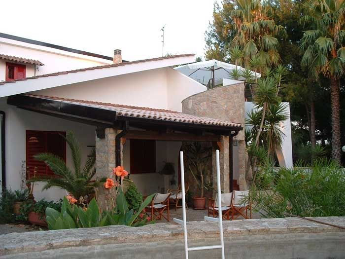 View of the property from outside Location Villa 85621 Ugento - Torre San Giovanni