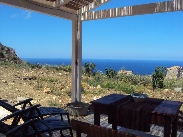 View of the property from outside Location Villa 80627 Scopello