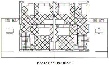Map of property Location House 67481 Castellammare del Golfo