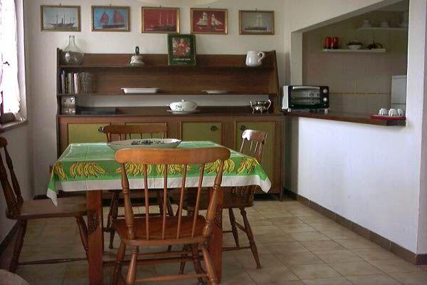 Dining room Location Apartment 71233 Stintino
