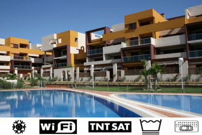 Swimming pool Location Apartment 65502 Torrevieja