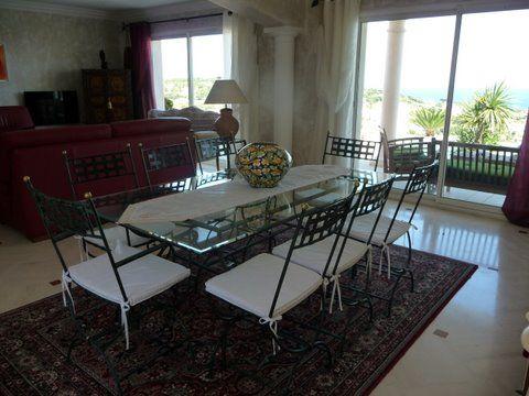 Dining room Location Villa 85005 Sainte Maxime