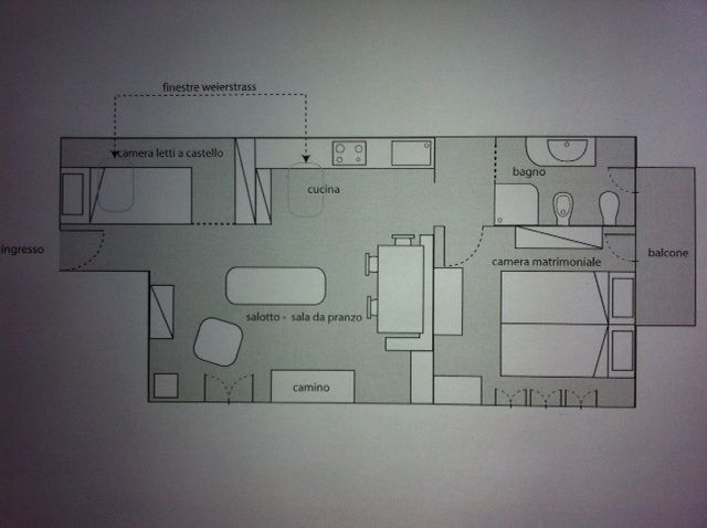 Map of property Location Apartment 79781 Sauze d'Oulx