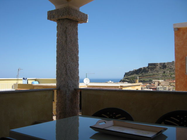 View from the balcony Location Apartment 83701 Castelsardo