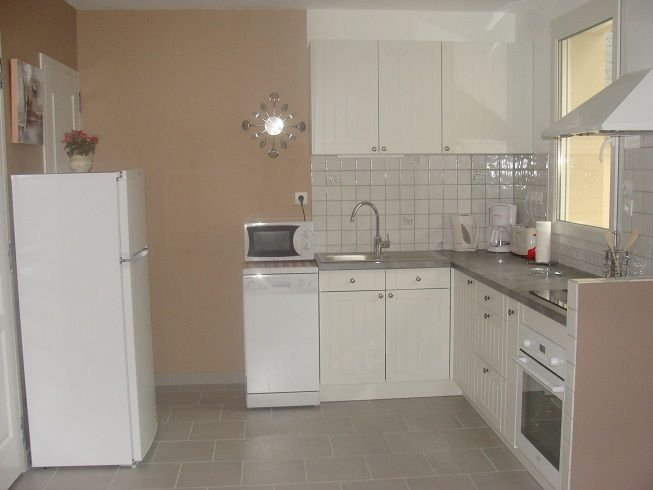 Open-plan kitchen Location Vacation rental 90681 Arromanches