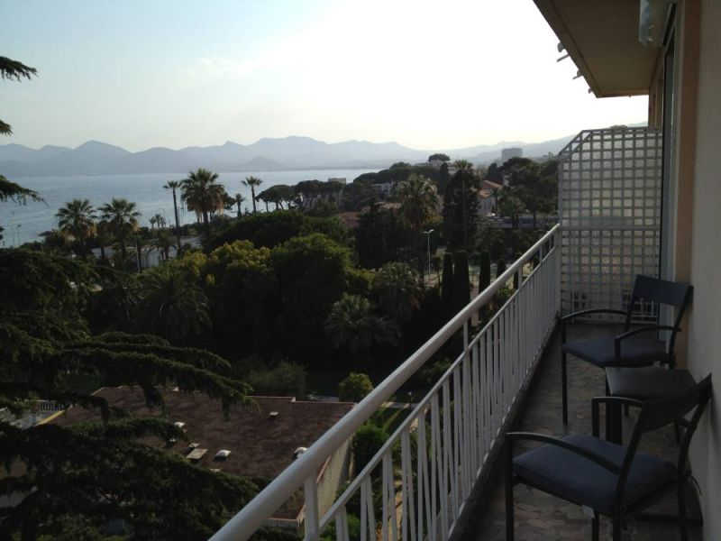 View from the balcony Location Apartment 104812 Cannes