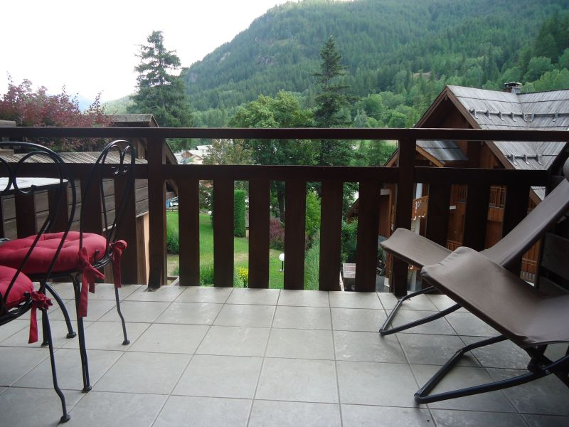 View from the terrace Location Apartment 106688 Serre Chevalier