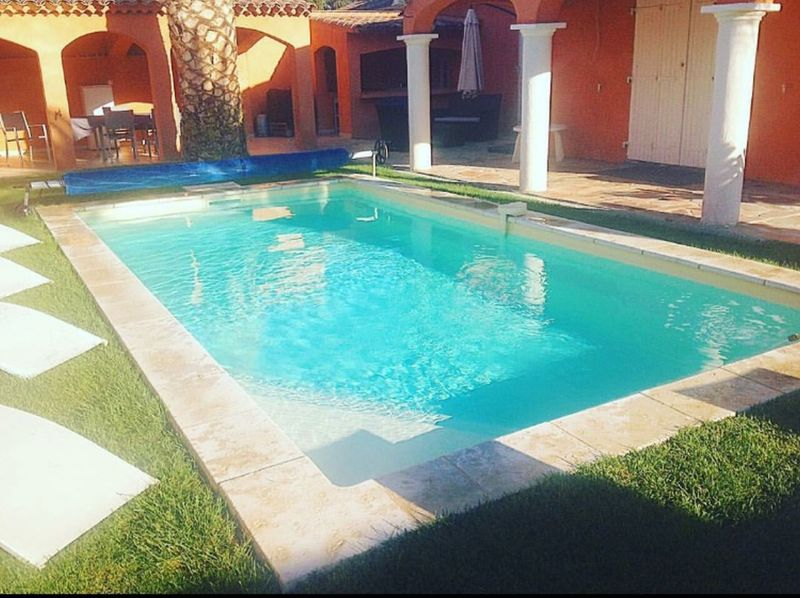 Swimming pool Location Villa 112792 Sainte Maxime