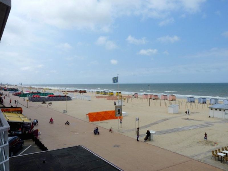 View from the balcony Location Apartment 115662 De Panne