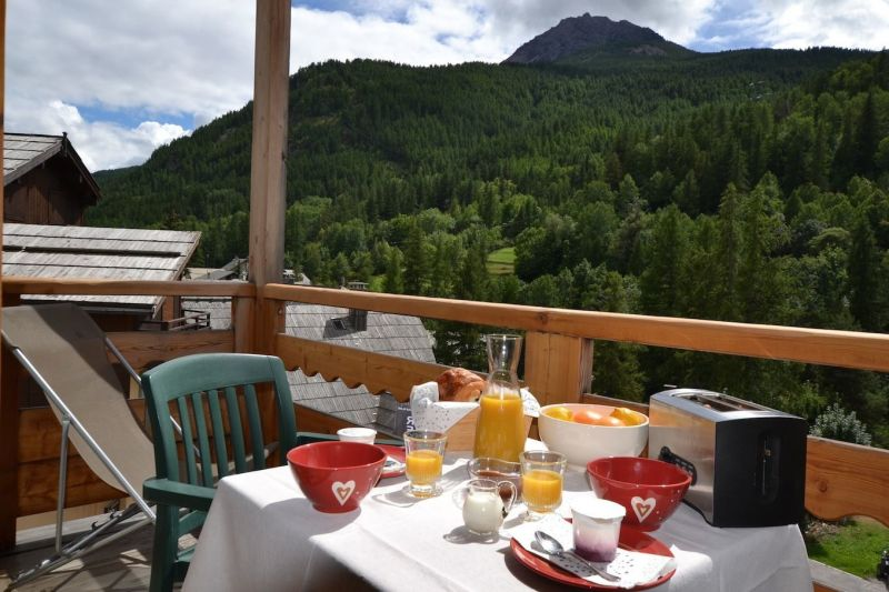 View from the balcony Location Apartment 117237 Serre Chevalier