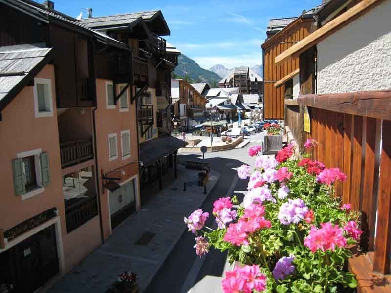 View from the terrace Location Apartment 117911 Serre Chevalier