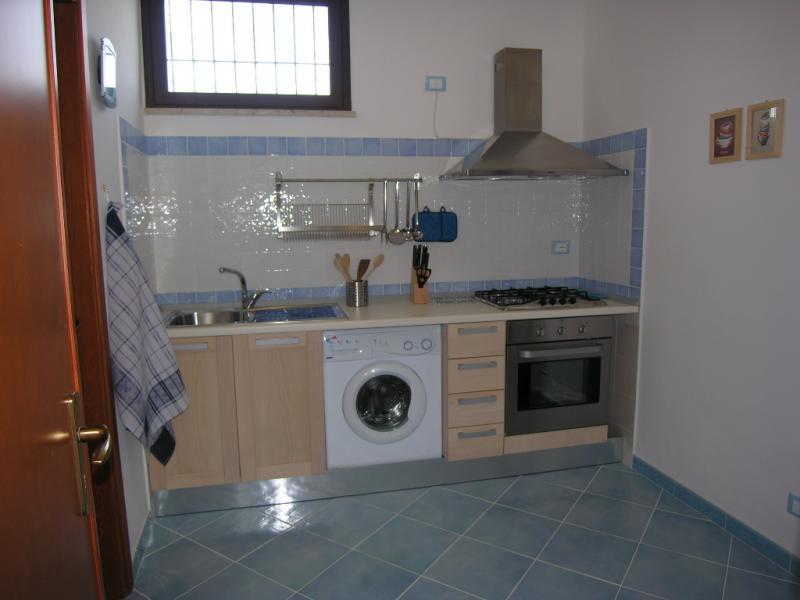 Separate kitchen Location Apartment 64606 Scopello