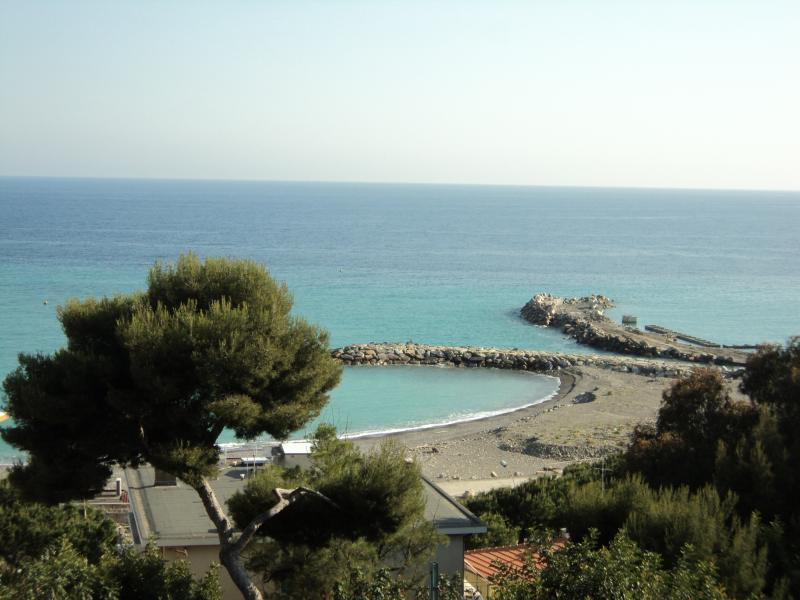 View from the terrace Location Apartment 72922 Ospedaletti