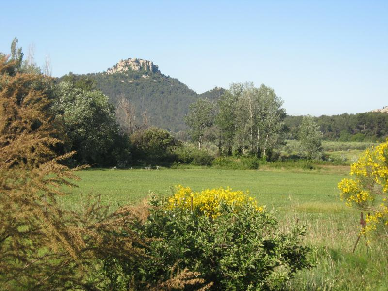 View of the property from outside Location House 76062 Les Baux de Provence