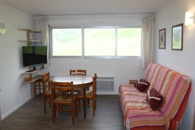 Living room Location Apartment 91169 La Mongie