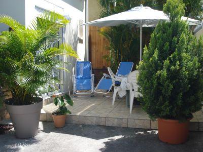View from the terrace Location House 110325 Saint Pierre (Réunion)