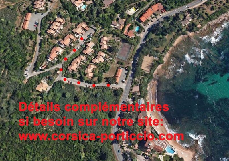 Area map Location Apartment 111942 Porticcio