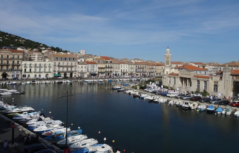 View from the property Location One-room apartment 115750 Sete