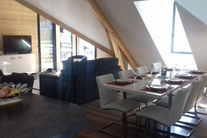 Living room Location Apartment 116930 Saint Lary Soulan