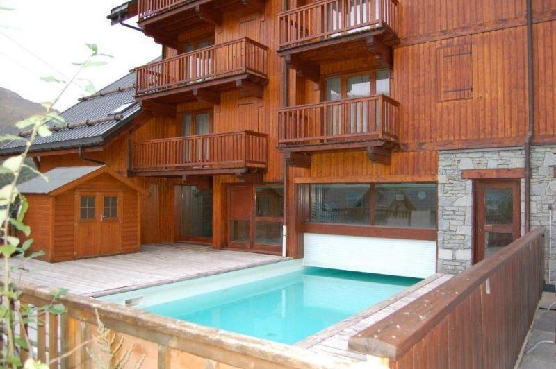 Swimming pool Location Apartment 117722 Valloire