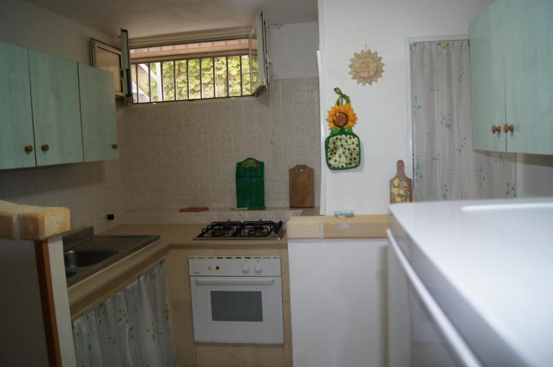 Open-plan kitchen Location Apartment 63845 Manduria