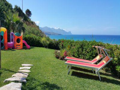 View of the property from outside Location Villa 76275 Castellammare del Golfo