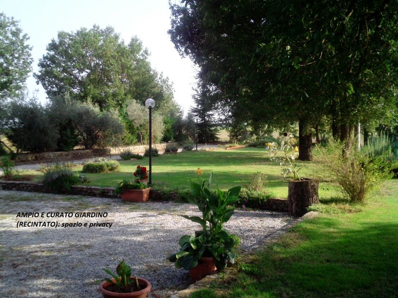 Garden Location House 87280 Cortona