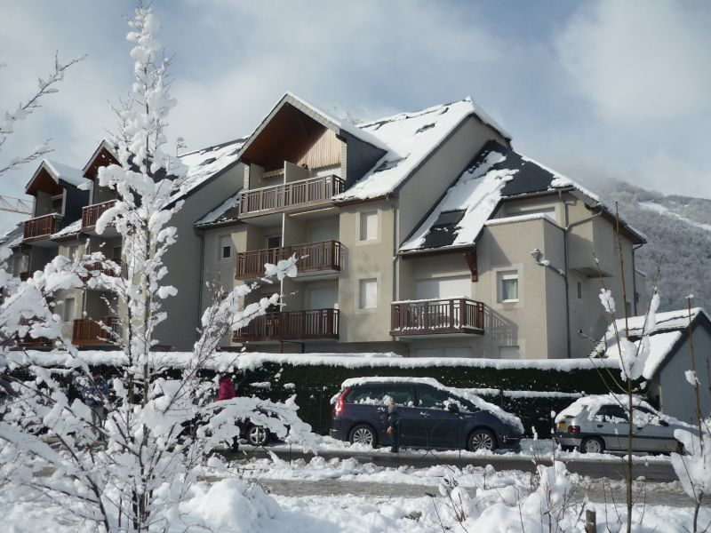 View of the property from outside Location Apartment 110668 Saint Lary Soulan