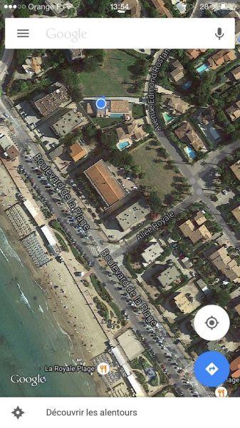 Area map Location Villa 118107 Saint Cyr sur Mer