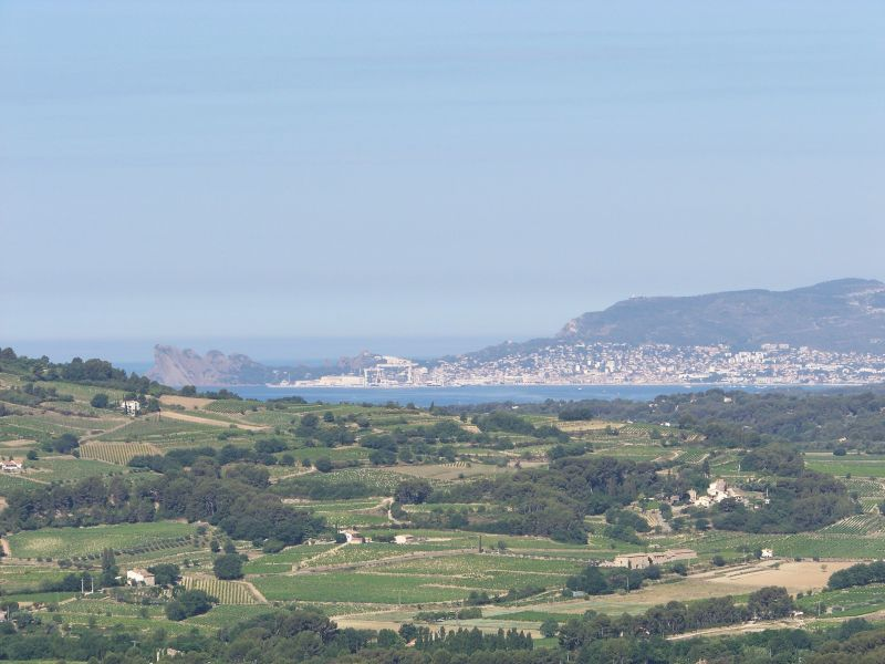 View from the terrace Location Apartment 118194 Le Castellet