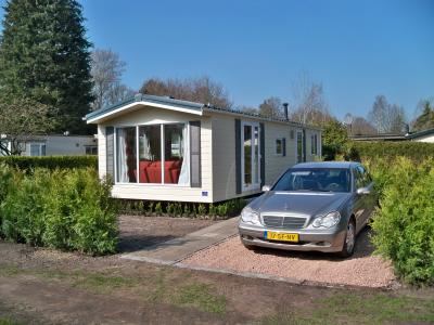 View of the property from outside Location Mobile home 76017 Assen