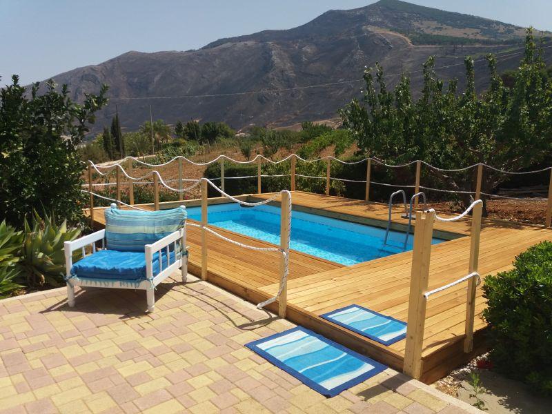 Swimming pool Location Villa 77449 Castellammare del Golfo