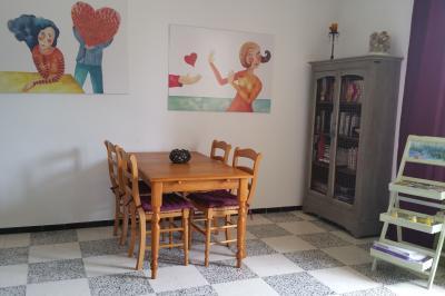 Living room Location Apartment 83752 Avignon