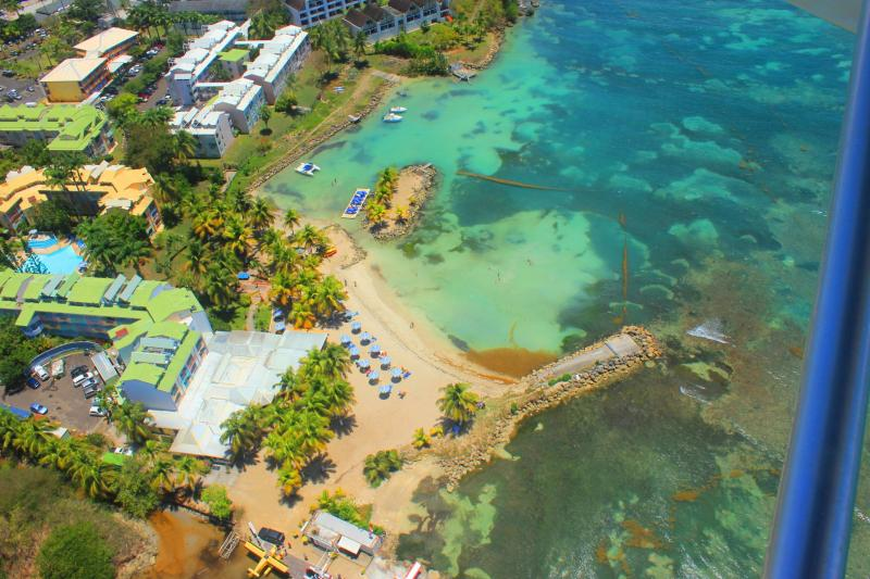 View of the property from outside Location Apartment 86727 Gosier (Guadeloupe)