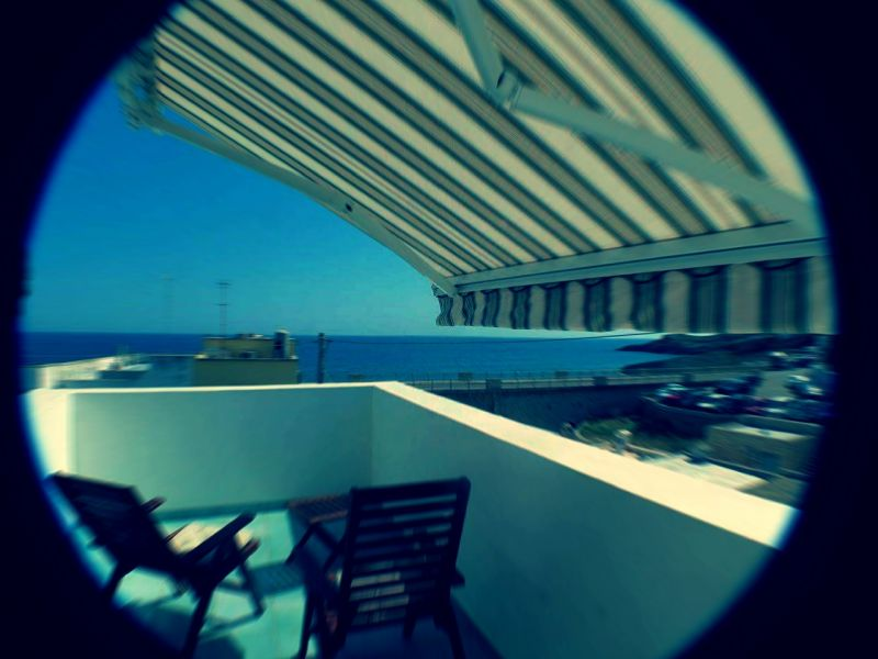 View from the terrace Location Apartment 87746 Santa Maria di Leuca