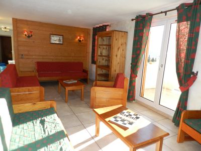 Living room Location Apartment 101201 Les 2 Alpes
